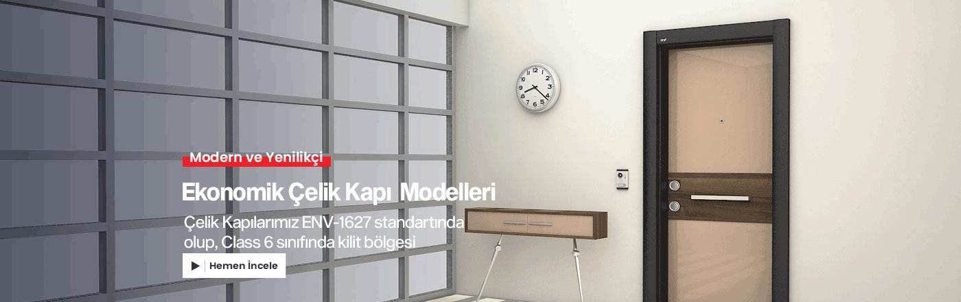 Ekonomik Çelik Kapı Modelleri
