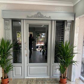 Beyaz Villa Kapısı Resimleri Modelleri